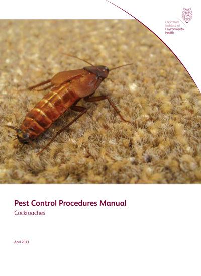 Pest Control Procedures Manual: Cockroaches