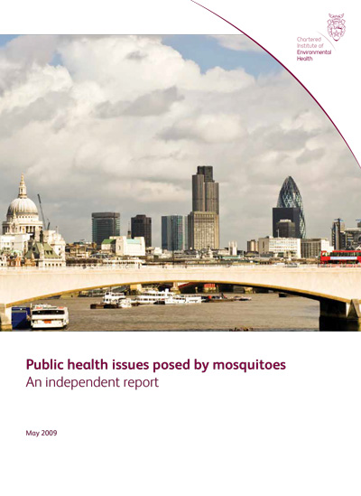 Public Health Issues Posed By Mosquitoes: An Independent Report