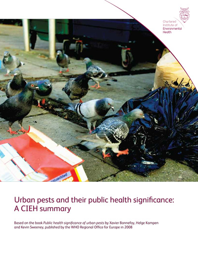 Urban Pests And Their Public Health Significance: A CIEH Summary