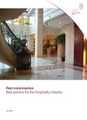 Best practice for the hospitality industry