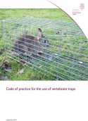 Code of practice for the use of vertebrate traps