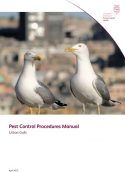 Pest control procedures manual: Urban gulls