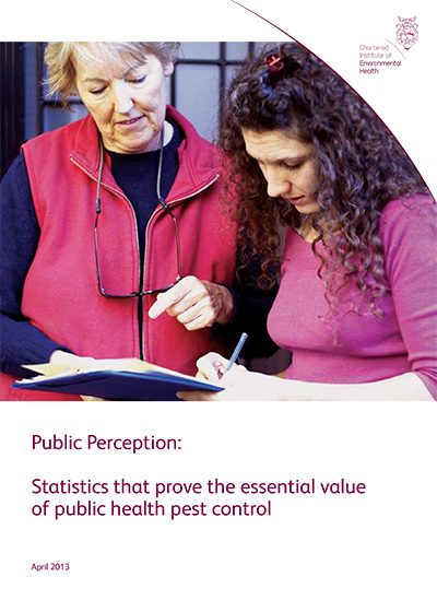 Public Perception: Statistics that prove the essential value of public health pest control