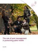 The role of pest management in protecting public health