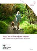 Pest control procedures manual: Ticks - Ixodes ricinus and Rhipicephalus sanguineus